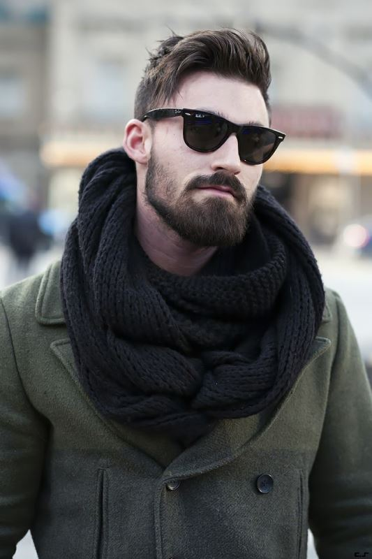 Picture Of men scarves inspiration 19 stylish fall looks to recreate  7