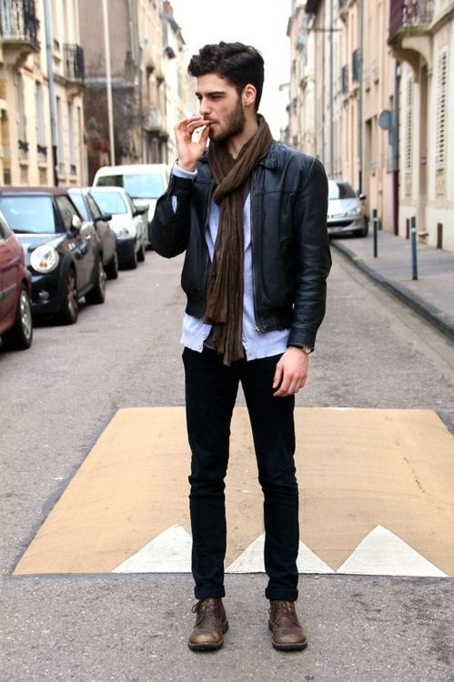 27 Inspiring Men Work Outfits With Boots Photo 15