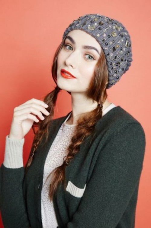 Messy Yet Sophisticated DIY Braid To Wear Under A Hat