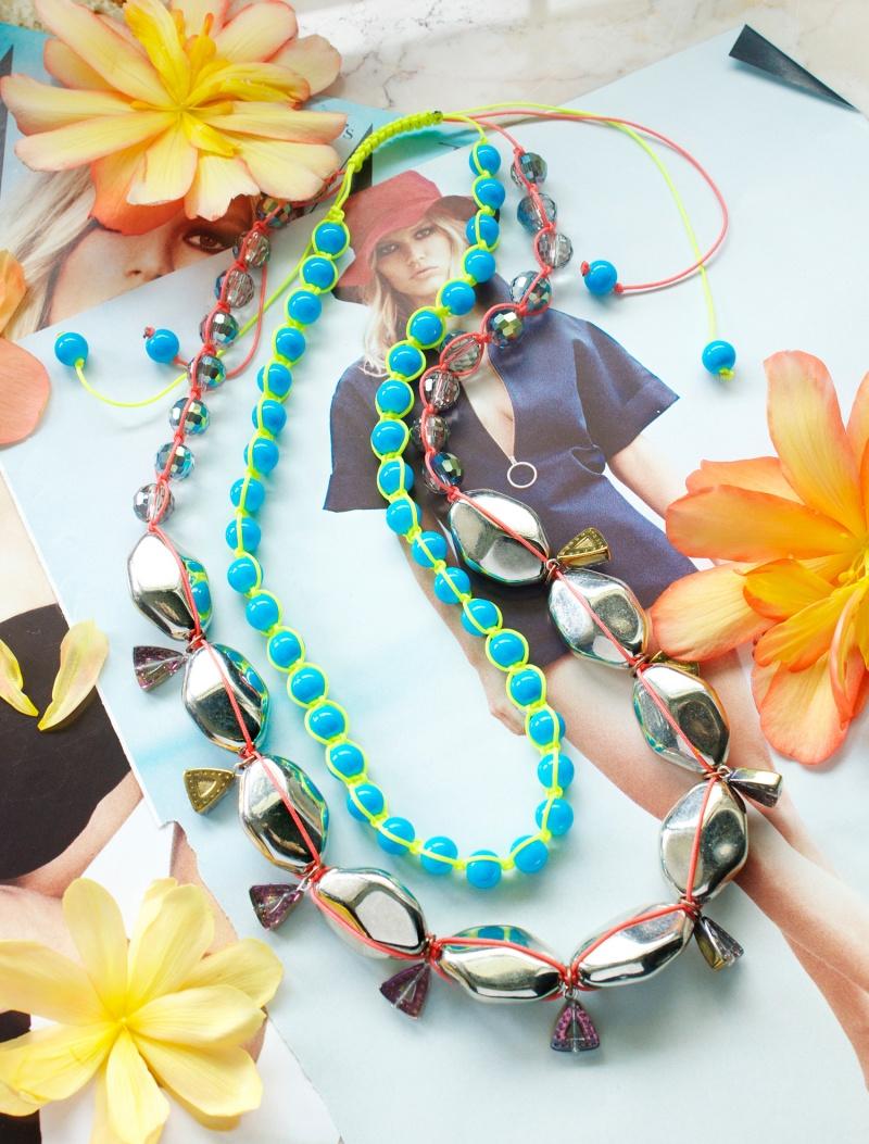 of miami heat neon diy necklace to rock 1