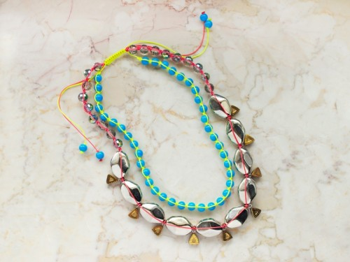 Miami Heat Neon DIY Necklace To Rock