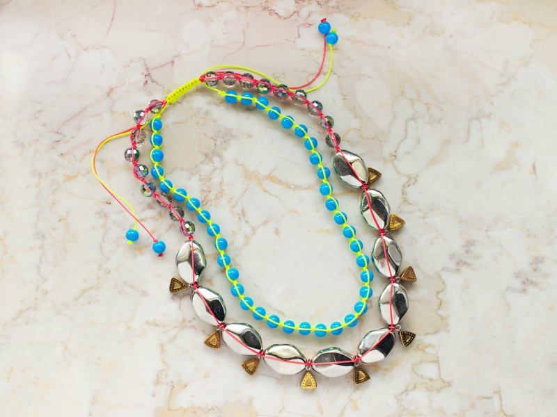 Picture Of miami heat neon diy necklace to rock  5