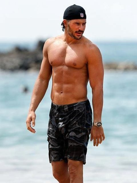Picture Of modern and comfy long swim trunks for guys  4