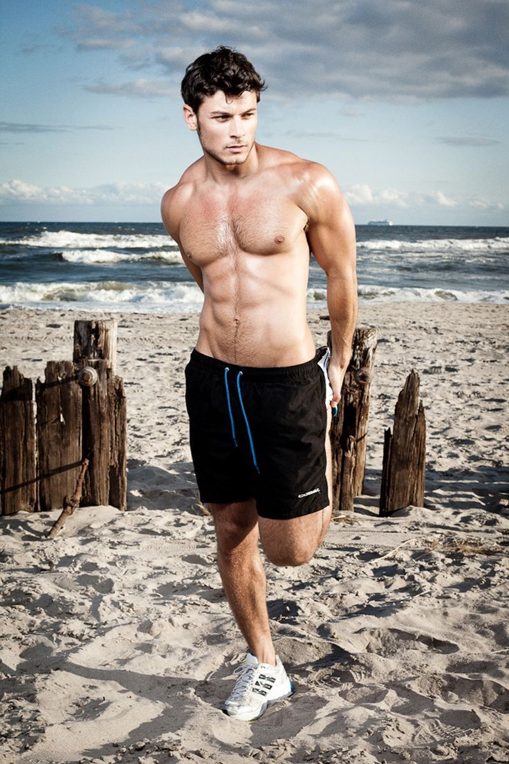 Picture Of modern and comfy long swim trunks for guys  9