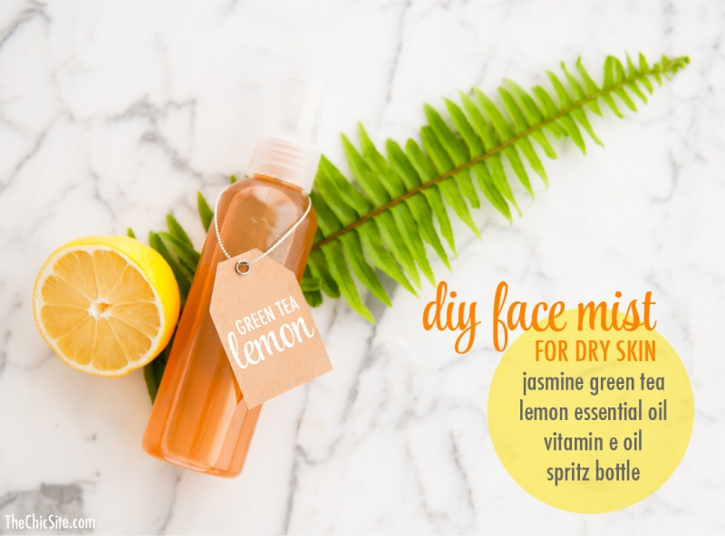 Picture Of moisturizing diy face mist for dry skin  1