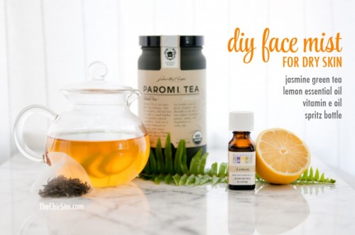 Moisturizing DIY Face Mist For Dry Skin