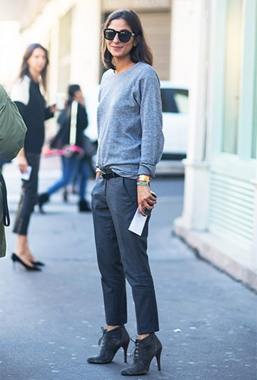 Monochrome Madness Or 13 Trendy Ways To Wear All One Color