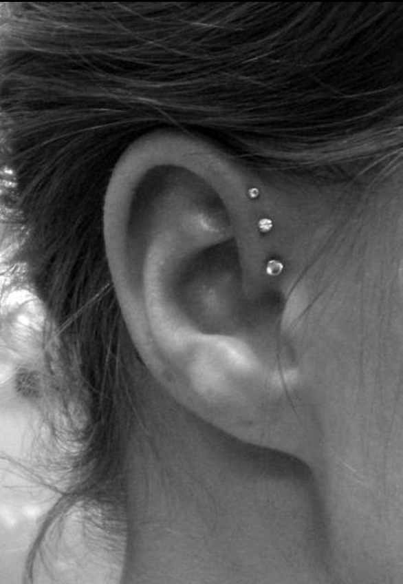 Picture Of multiple earrings ideas  11