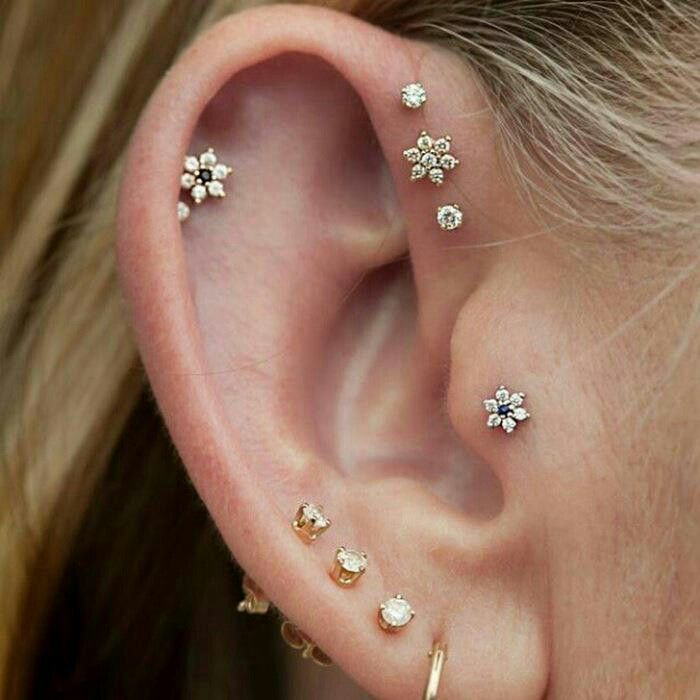 Picture Of multiple earrings ideas  15