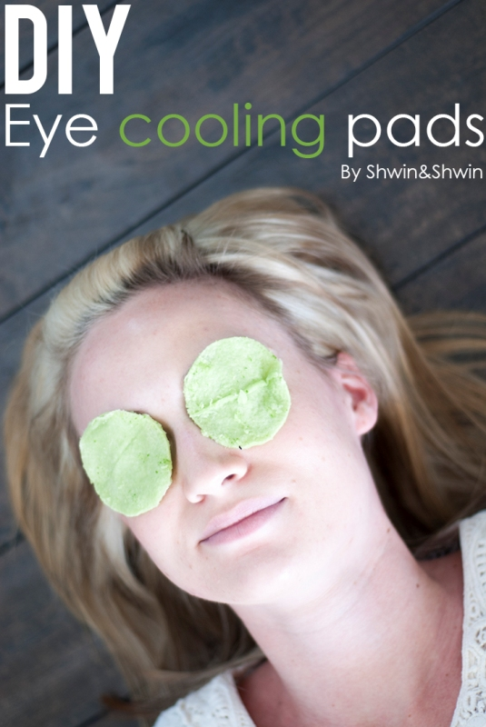 Picture Of natural diy eye cooling pads to reduce puffiness and dark circles  1