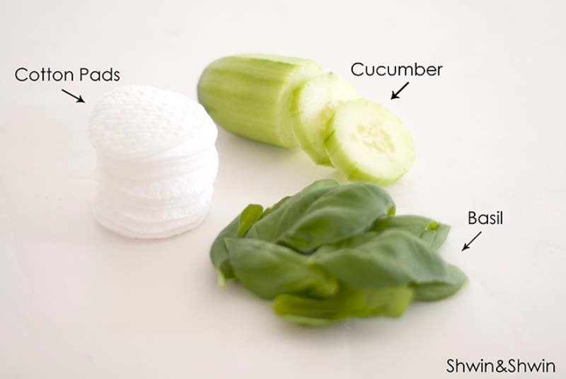 Picture Of natural diy eye cooling pads to reduce puffiness and dark circles  2