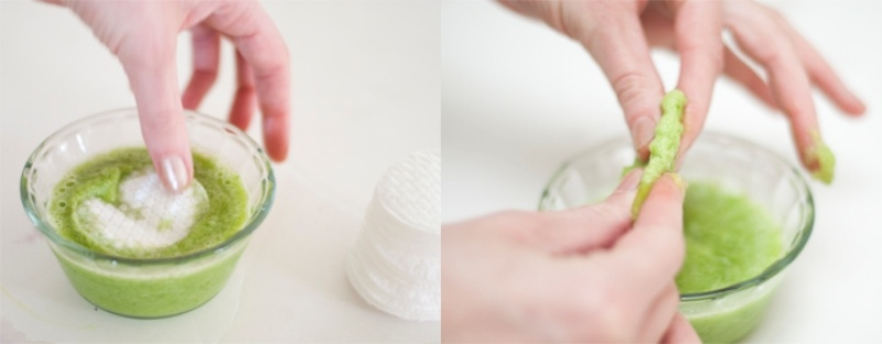 Picture Of natural diy eye cooling pads to reduce puffiness and dark circles  3