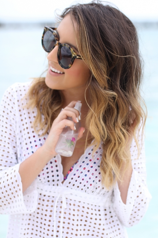 Picture Of natural diy sea salt spray for beautiful beachy waves  1