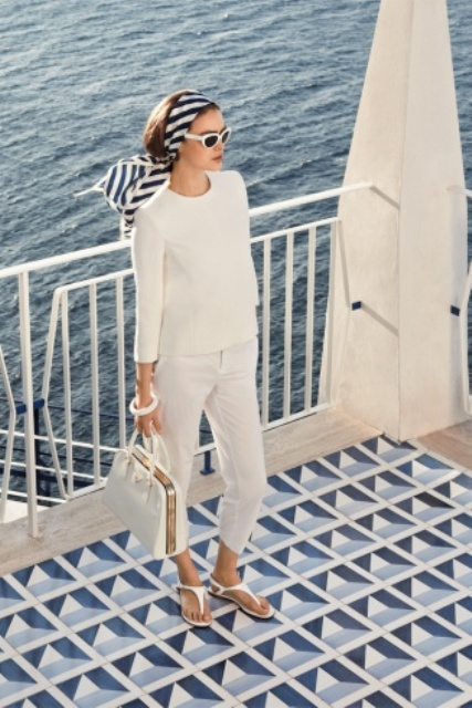 Picture Of nautical outfits for your vacation at the seaside  11