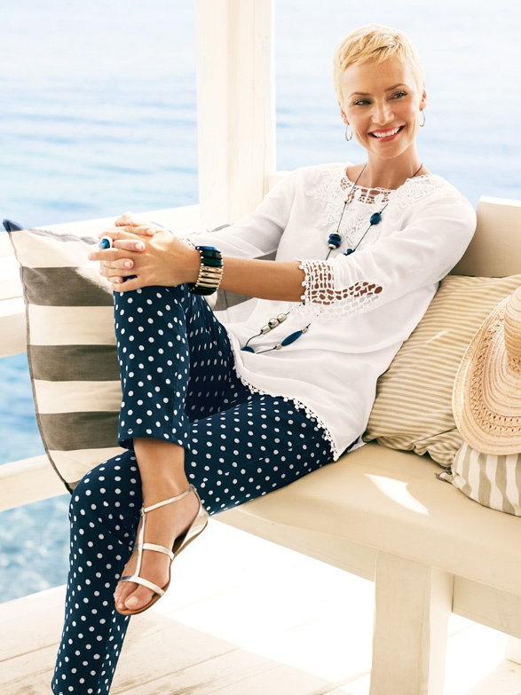 Picture Of nautical outfits for your vacation at the seaside  24