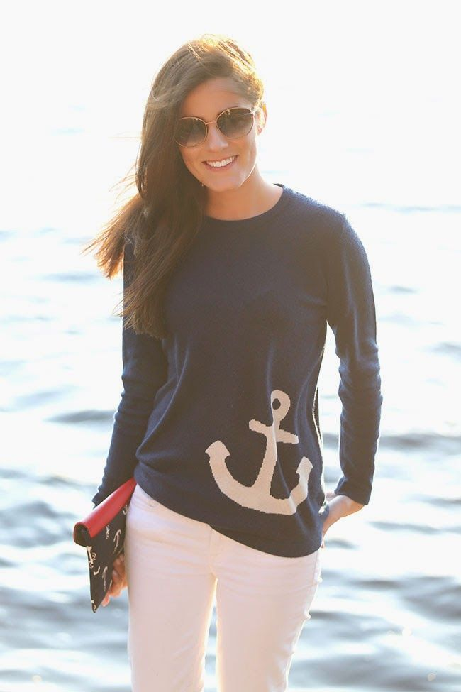 picture of nautical outfits for your vacation at the seaside 5
