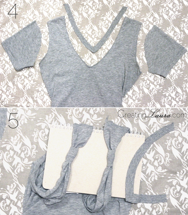 Picture Of no sew diy bow back top  4