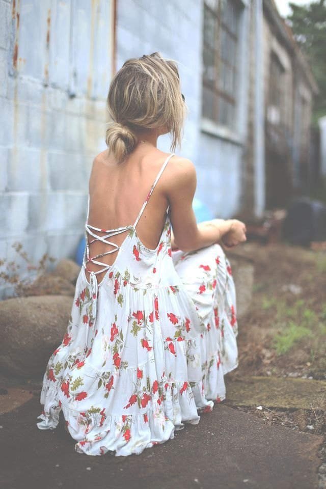 Picture Of open back dresses for summer  10