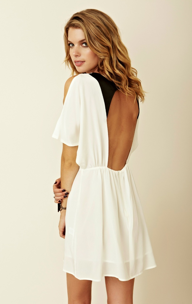 Picture Of open back dresses for summer  13
