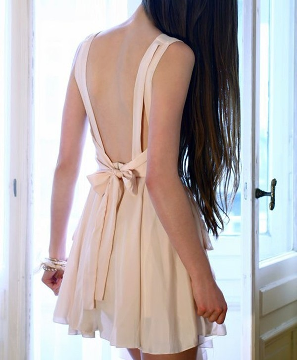 Picture Of open back dresses for summer  25