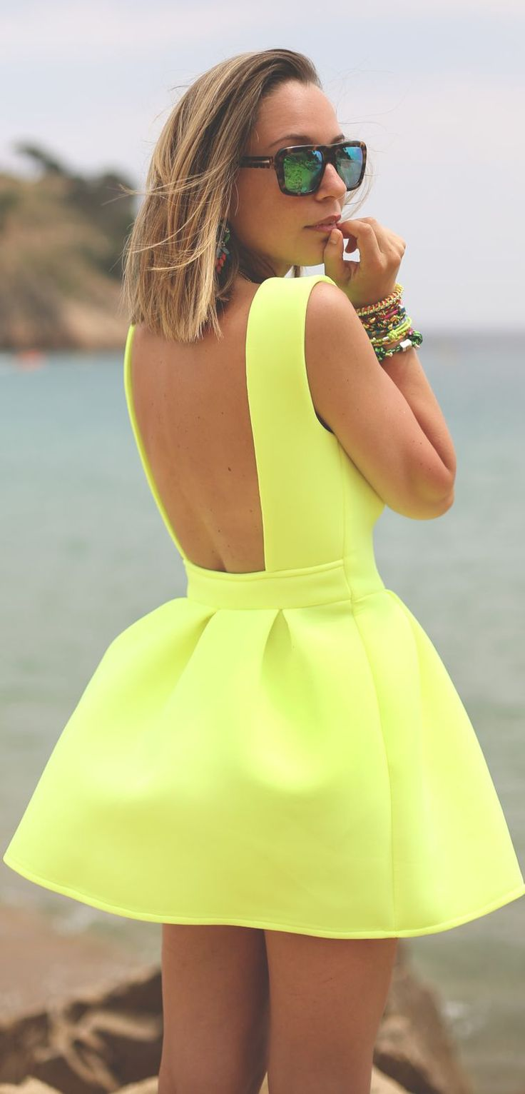 Picture Of open back dresses for summer  27