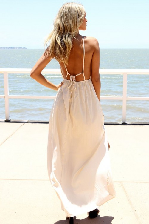 Making A Statement 25 Open Back Dresses For Summer