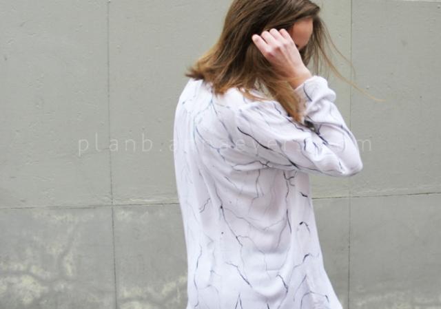 Picture Of original diy marble print shirt  1