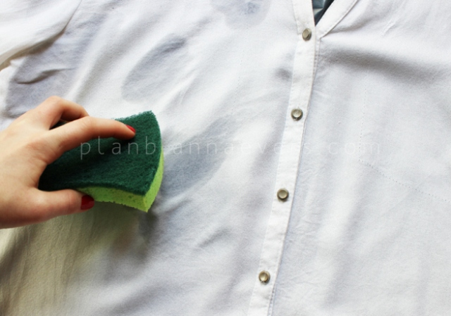 Original DIY Marble Print Shirt