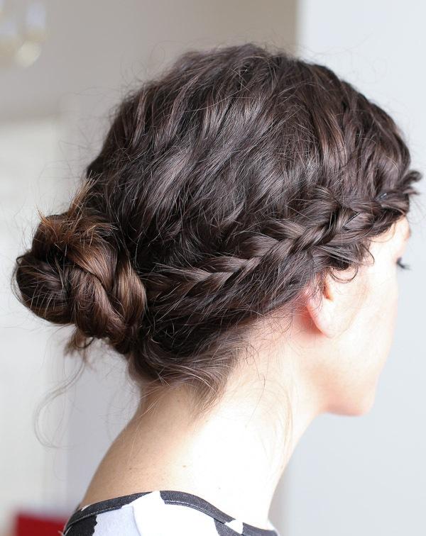 Picture Of original runway inspired diy braided hairstyle  3
