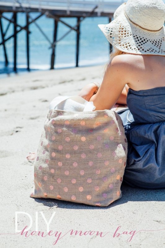 Picture Of perfect diy beach bag to make  1