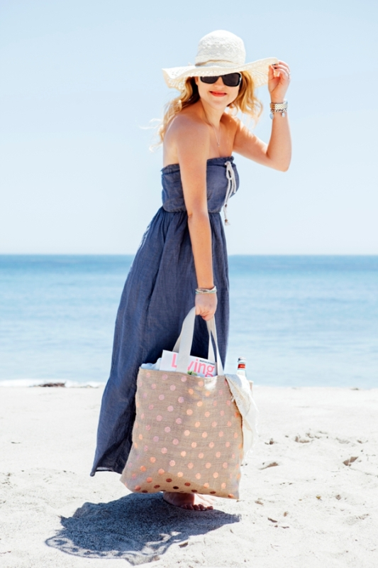 Picture Of perfect diy beach bag to make  2