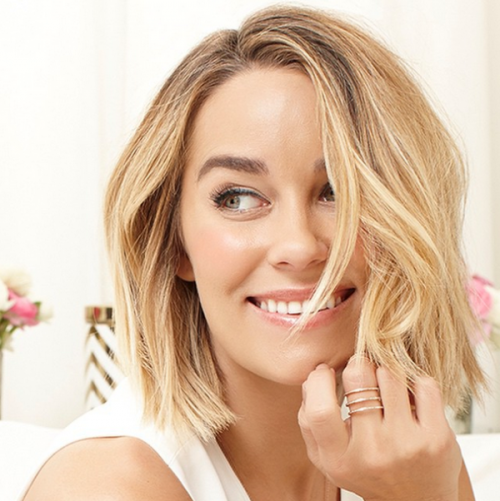 Perfect DIY Lauren Conrad's Beach Waves For Short Hair