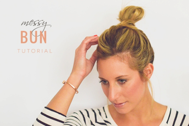 Picture Of perfect diy messy bun for any occasion  1