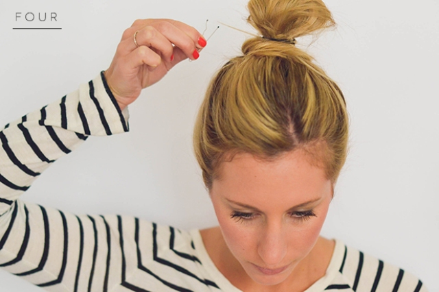 Picture Of perfect diy messy bun for any occasion  4