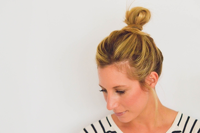 Picture Of perfect diy messy bun for any occasion  6