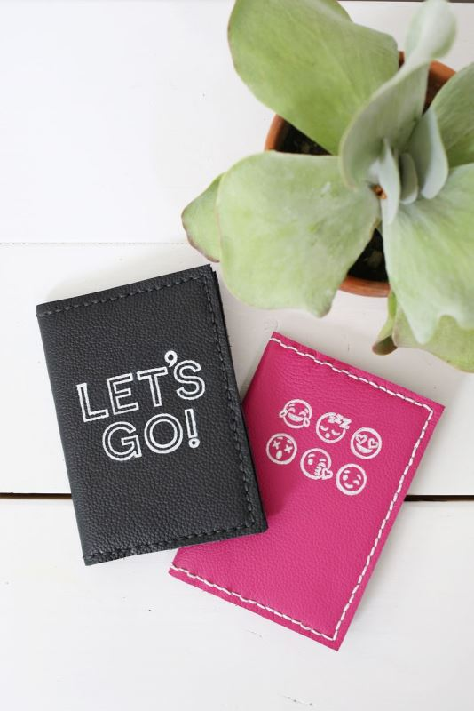 Picture Of perfect diy stamped leather passport holder  1
