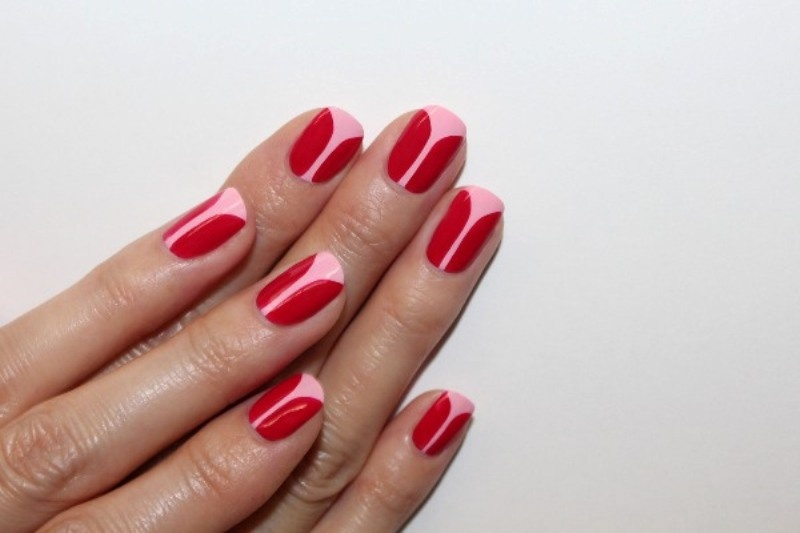 Picture Of playful diy tulip nail art to try  1