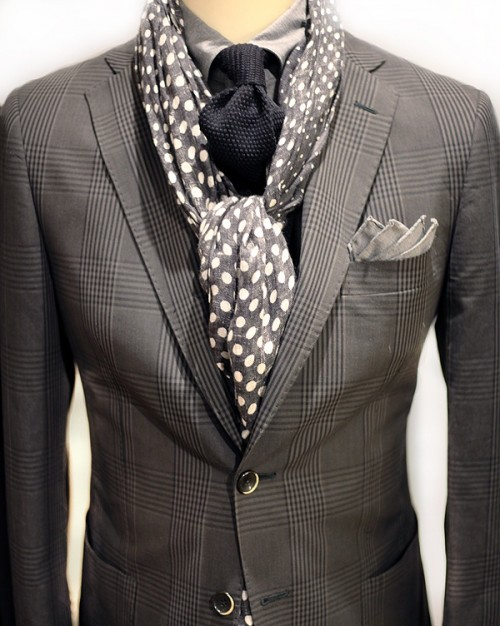 Polka Dot Men Outfits For Work