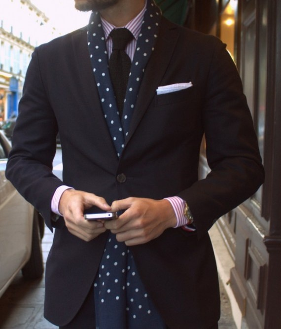 Picture Of polka dot men outfits for work  17