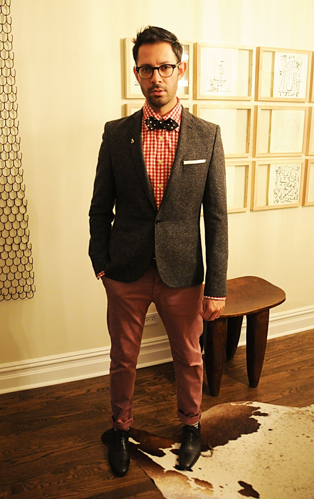 Picture Of polka dot men outfits for work  3