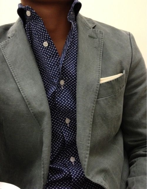 Picture Of polka dot men outfits for work  9