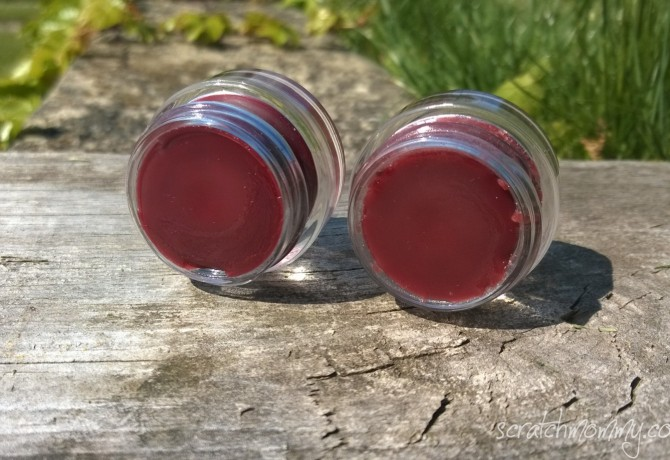oils infused colorful lip gloss