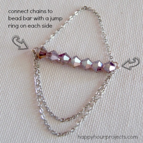 Pretty And Simple DIY Chandelier Earrings
