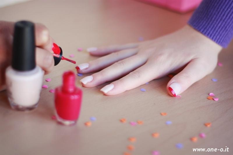 Picture Of pretty diy confetti nail art  3