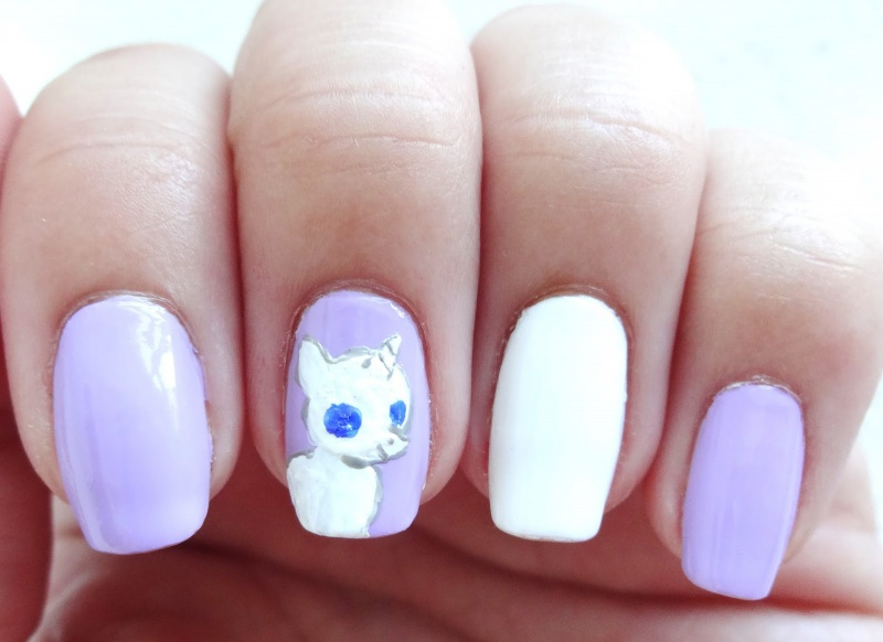 Picture Of pretty diy my little pony manicure  3