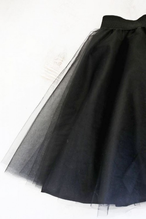 Pretty Girlish DIY Tulle Skirt To Make