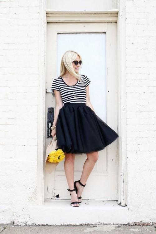Pretty Girlish DIY Tulle Skirt To Make