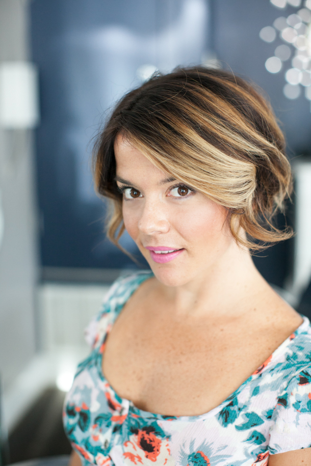 Pretty Simple Bandana Beauty: Pretty-simple-diy-updo-for-short-hair-1