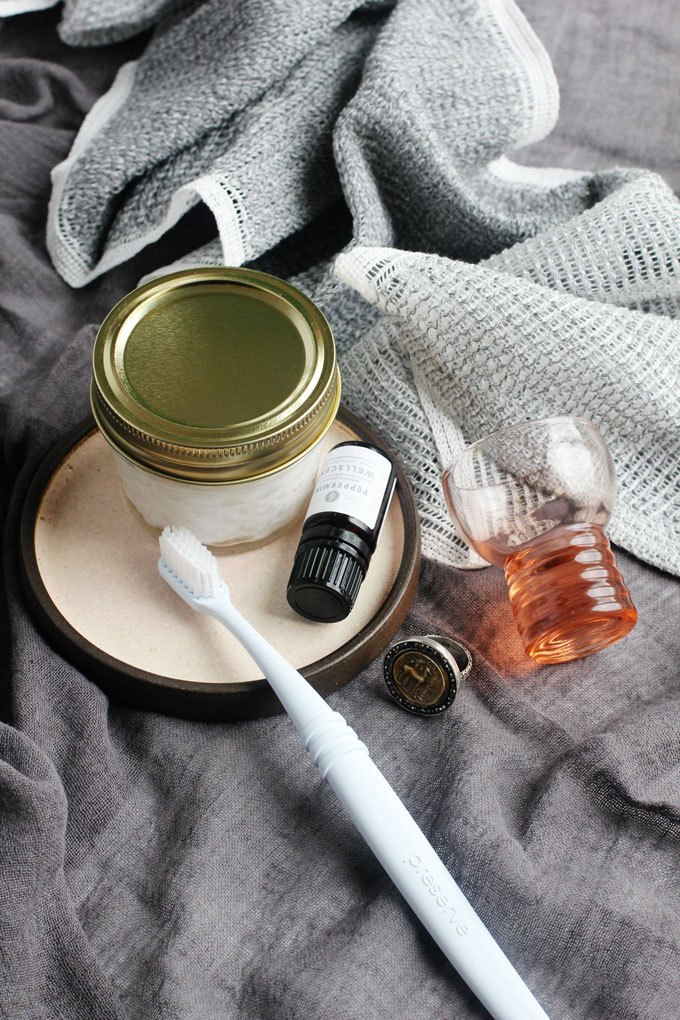 Picture Of refreshing and natural diy peppermint toothpaste  1