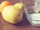 summer lemon sugar scrub